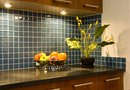 How to Put Backsplash Tile Around a Kitchen Counter