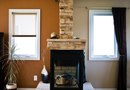How to Decorate a Fireplace Behind a Wood Burning Stove