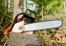 How to Adjust the Bar Chain Oil on a 310 Stihl