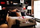 How to Create a Red, Black & White Bedroom