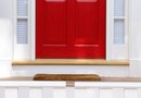 The Best Paint Color for a Red Glossy Front Door