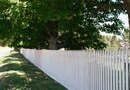 The Best Way to Paint an Old Picket Fence