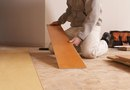 How to Replace a Laminate Floor Board in the Middle of a Floor