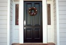 How to Make a Double Front Door Into One