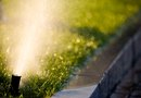 How to Adjust a Sprinkler Spray Angle