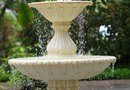How to Control the Splash of a Garden Fountain