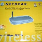 Cable modems have a coaxial connection coming from the cable company, and another connection leading to a computer or router.