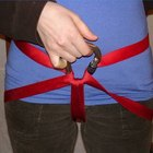 How to Tie a Climbing Harness With Webbing