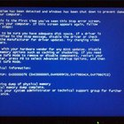 The blue screen of death stops computer users in their tracks.
