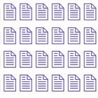 Microsoft OneNote allows you to organize digital notes into notebooks.