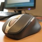 A Microsoft-manufactured mouse