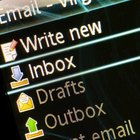 Keep your email organized by using folders for projects.