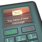 Your SMS messages save to your phone's SIM card.
