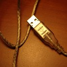 USB connections transmit data and sometimes power to the USB device.