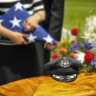 The Proper Way to Drape a Flag Over a Casket