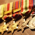 Proper Display of Military Medals