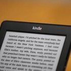 Kindles function as USB drives do when connected to computers.