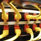 Fiber-optic cables are extremely efficient, but must be handled with care.