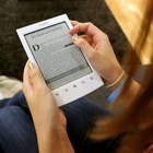 Windows computers and Macs can read Kindle e-books using reader software.