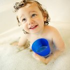 Safe Bath Time Bubbles for Toddlers