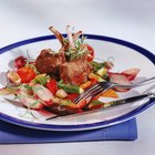 Menu Ideas Containing Lamb Chops
