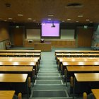 Projectors make presentations viewable to large audiences.