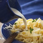 How to Make a Pasta Meal with Canned Cream of Chicken Soup