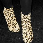 How to Style Leopard Print Ankle Boots