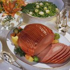Baked Ham Dinner Menu