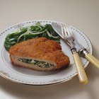Menu With Chicken Cordon Bleu