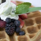 How to Make Waffles With Cake Mix