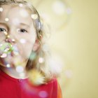 Teaching Kids About Breathing by Blowing Bubbles