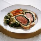 Beef Wellington Dinner Menu