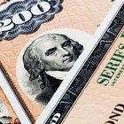Value of United States EE Savings Bonds