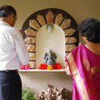 Traditional Hindu Altar Arrangements