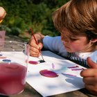 What Do Preschoolers Learn From Watercolor Painting?