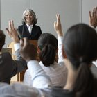 About the Effects of Raising Hands in Class