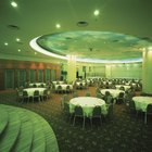 How to Calculate How Big a Banquet Hall Is Needed