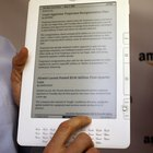 How to Put Files From the PC on a Kindle