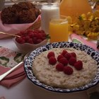 A High Fiber Breakfast for Children
