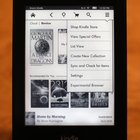 Amazon's Kindle can display text horizontally or vertically.