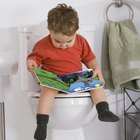 How to Get a Child to Sit on the Big Toilet