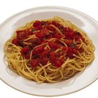 How Can I Make a Low Calorie Meal Out of Spaghetti?