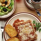 The Menu for a Lasagna Dinner