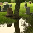 How to Form a Base for a Gravestone Marker