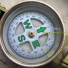 Directions for Using an Engineer Lensatic Compass