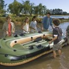 How to Repair an Inflatable PVC Boat
