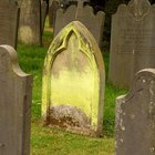 How to Repair a Granite Headstone