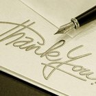 How to Write a Thank You Note for Anniversary Gifts
