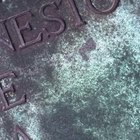How to Restore Bronze Grave Markers